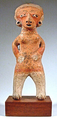 Pre-Columbian Chinesca Figure Nayarit Mexico Ex Sothebys 1977