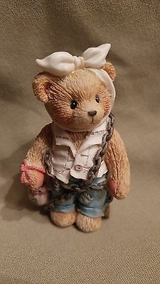 "Cherished Teddies JACOB BEARLY ""You will be haunted by three spirits"" 1994"