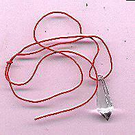 Crystal Dowsing Pendulum - Wicca , Witch etc