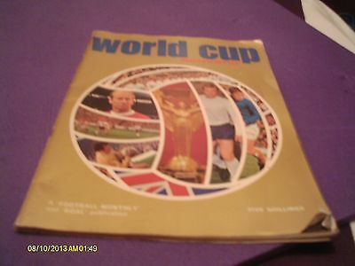 World Cup Souvenir Football Monthly Mexico 1970