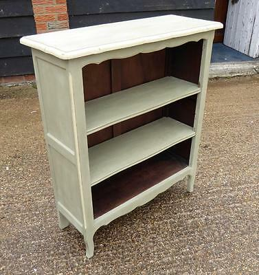 Painted French Open Bookcase