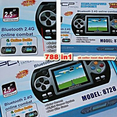 PCP Game Console Bluetooth Handheld Portable 16 Bit 2.4GVideo 788 Games in 1