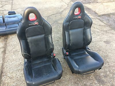 Honda Civic Ep3 Type R 3 Door Leather Seat Interior Set (Front & Rear) + Runners