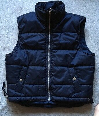 Girls BNWOT Navy Blue Body Warmer Age 14 By TAMMY