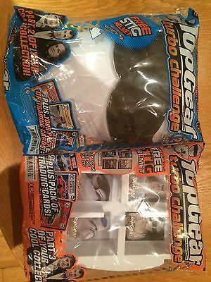 Top Gear Turbo Challenge Parts 2 and 3 With Stig Helmet Card Holder (Rare)