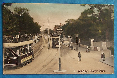 FRITH Postcard 1905 KINGS ROAD READING BERKSHIRE