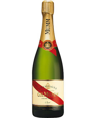 French Champagne - Mumm Cordon Rouge Brut Champagne NV (6 Pack)