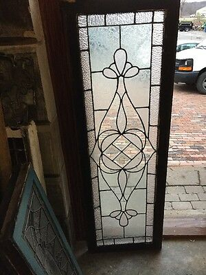 Sg 954 Antique Transom Textured Glass Window
