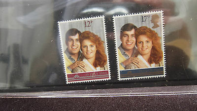 THE ROYAL WEDDING 1986 Royal Mail MINT STAMP Pack - Prince Andrew & Fergie