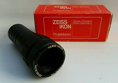Vintage Zeiss Ikon Vario Talon SMC 85-150mm Projection Projector Lens