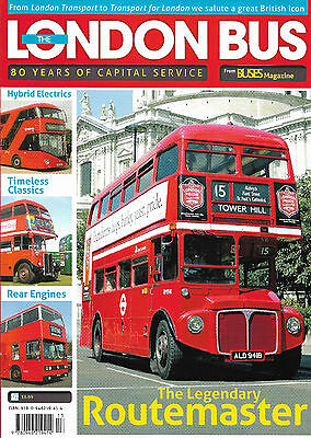 The London Bus: 80 Years Of Capital Service (paperback bookazine)