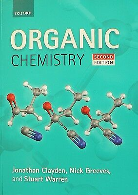 Organic Chemistry by Jonathan Clayden Paperback Book (English) secon edition