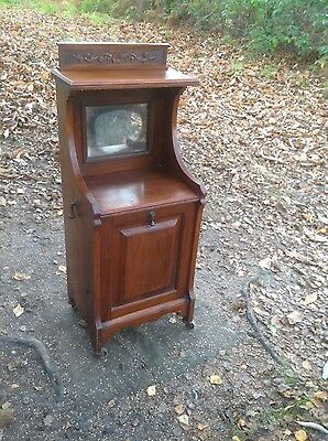 Pretty Antique Wooden Side Cabinet