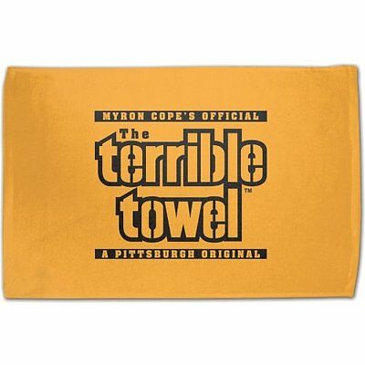 Pittsburgh Steelers Original Terrible Towel Gold Logo New Officially License