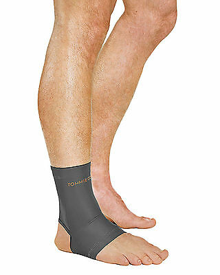 Tommie Copper Recovery Compression Ankle Sleeve grey- UNISEX - MEN -WOMEN-MEDIUM