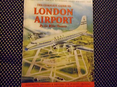 rare THE COMPLETE GUIDE TO LONDON AIRPORT 1956 Book