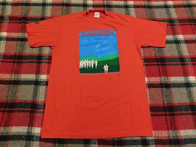 Vintage 1980's 1988 Bloomsday Nike Blue Label T Shirt Mens Large Made In The Usa
