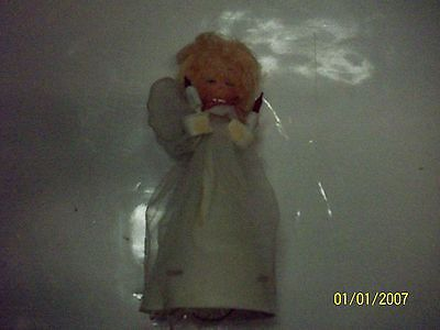Vintage Celluloid Angel Tree Topper  Rare!!!
