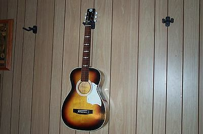 Vintage Sears Silvertone S1202 Atomic Logo Acoustic Parlor Guitar 1973!  OFFER!