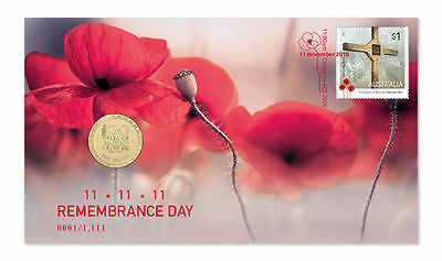 2016 REMEMBRANCE DAY PNC Stamp Coin Cover Limited Edition RARE 1111 only