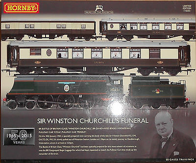 Hornby 'oo' Gauge, R3300, Sir Winston Churchill's Funeral Train, Limited Edition