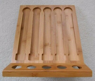 Ambiance 'Nature' Bamboo Coffee Capsule Holder