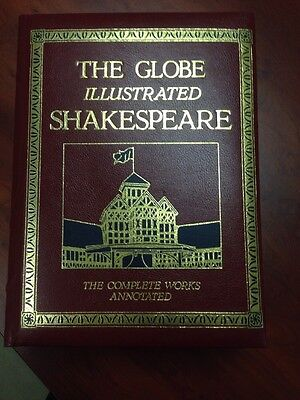 The Globe Illustrated Shakespeare The Complete Works Annotated Book