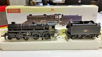 Hornby OO Gauge R2716 Class 75000 BR Black Weathered DCC Ready