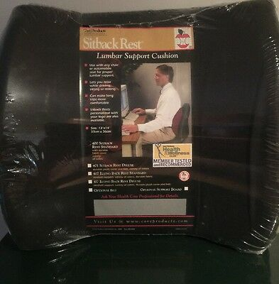 core products sitback rest lumbar support