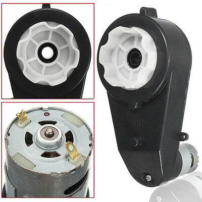12V 23000 RPM Electric Motor Gear Box For Kids Ride On Car Toy Spare Parts fb