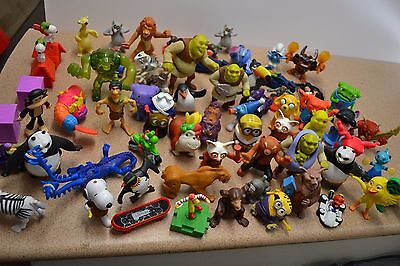 Bulk McDonald's happy meal toys x 68 McDonald's figurines Bulk Lot