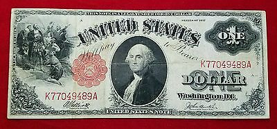 1917 $1 Legal Tender Note F37