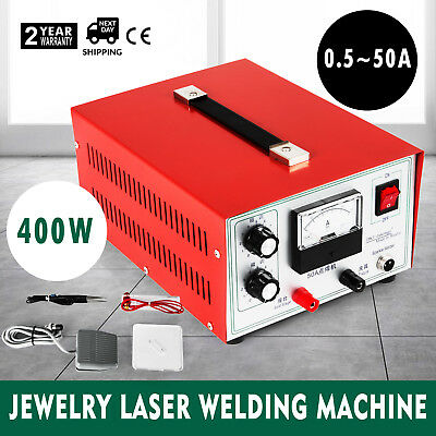 Jewelry Laser Welding Machine Electric Pulse Sparkle Spot Welder Jewelry Tool