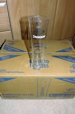 New Strongbow Pint Glasses Set of 24