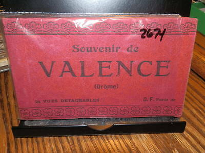 #2674,Valence France Postcard(24) Booklet