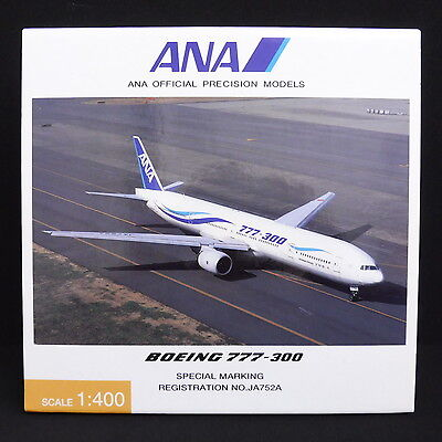 DO131 ANA OFFICIAL PRECISION MODELS NH40012 1:400 BOEING 777-300 JA752A aviation
