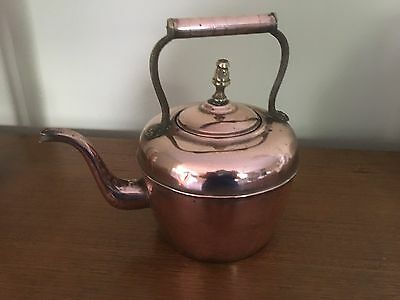 Antique Copper Pot (used for boiling water)