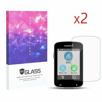 9H Hardness Tempered Glass Screen Protector for Garmin Edge Explore 820(2 Packs)