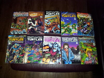 Lot of Eastman and Laird's TMNT comics
