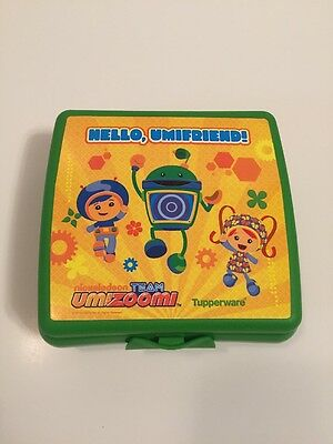 Tupperware Nickelodeon Team Umizoomi Kids Lunch Sandwich Keeper Umifriend