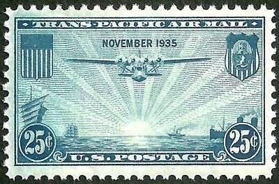 sc#C20 old 1935 china clipper airmail us/usa stamp mint og lines nh mnh xf gem