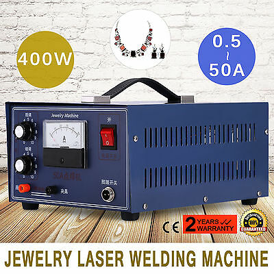 Jewelry Laser Welding Machine Electric Pulse Sparkle Spot Welder Platinum Stone