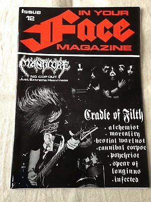 IN YOUR FACE - Issue 12 - Australian Heavy Metal ZINE 1994