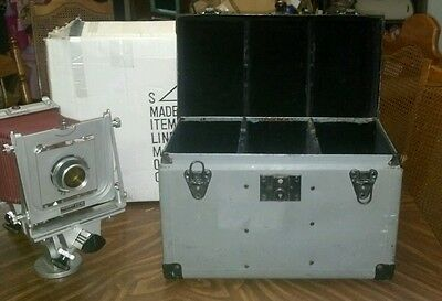 Graflex Graphic View 4x5 Large Format Camera w/ various lenses, filters and case