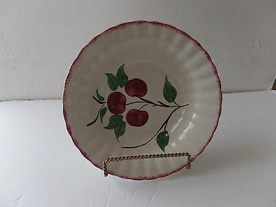 Blue Ridge Southern Pottery Crab Apple Colonial 9.5 Inches Serving Bowl
