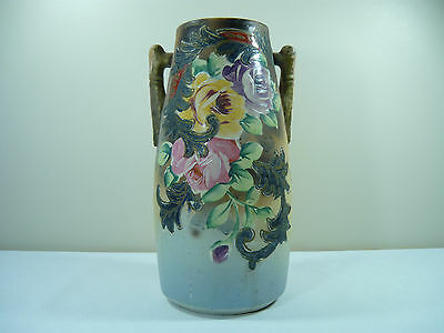 Beautiful Hand Painted Vase With Markings