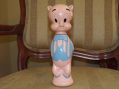 1960's Warner Bros Pictures Inc Porky Pig Soaky 9 3/4 in.