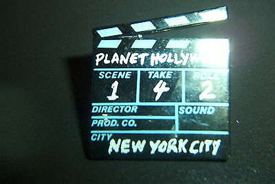 Planet Hollywood NEW YORK CLAPBOARD Pin