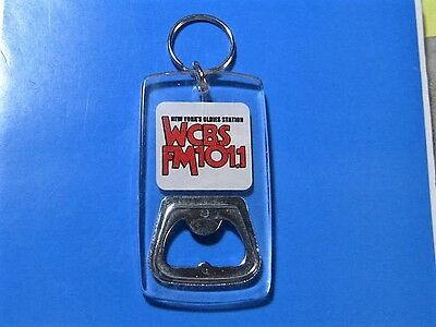 Collectible & Original Wcbs-Fm 101.1 Bottle Opener/key Chain N.y.oldies Station