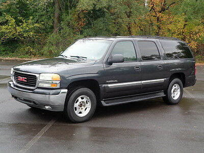 2003 GMC Yukon XL 1500 4WD 4X4 2ND-OWNER! NO RESERVE TOW PACKAGE 3RD ROW SEAT BLUETOOTH COLD AC RUNS DRIVES GREAT CLEAN